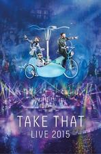 TAKE THAT: TAKE THAT LIVE 2015 DVD - NEW RELEASE DECEMBER 2015