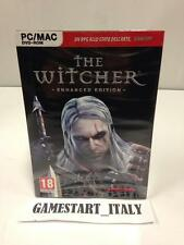 THE WITCHER ENHANCED EDITION (PC - MAC) NUOVO SIGILLATO VERSIONE ITALIANA