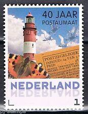 Nederland  40 jaar postaumaat uit boekje PQ8 gegomd 3012 Vuurtoren - Lighthouse
