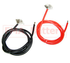 2M Red+Black #10 AWG Heatproof Soft Silicon Wire Cable