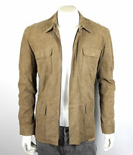 BLACK BROWN 1826 Men's Suede Leather Jacket Size M
