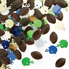 Football Confetti, Fathers Day, Birthday Party, Tailgating, Super Bowl, Game Day