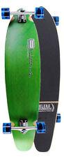 """Green Kicktail Longboard Skateboard 40"""" x 9.75"""" Complete"""