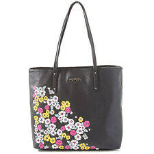 Kenneth Cole Flower Power Tote Bag Black