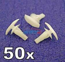 50x 6mm Weatherstrip & Rubber Door Seal Clips- Fits Mitsubishi Shogun Pajero etc