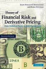 Theory of Financial Risk and Derivative Pricing : From Statistical Physics to...