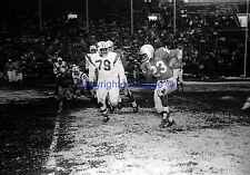 Buffalo Bills VS Patriots #23 Willmer Fowler 1960 8X10 Photo AFL
