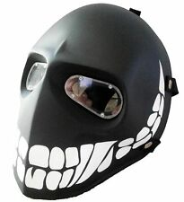 Black Smiley Army of Two Paintball Airsoft BB Gun Goggle Face Mask Costume Gear