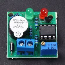 Under Voltage Protection Module Low Voltage Alarm 12V Lipo Battery Buzzer LM358