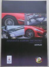 Ferrari Club Deutschland Maserati Ferrari Incontro 2016 Zeitplan buch brochure