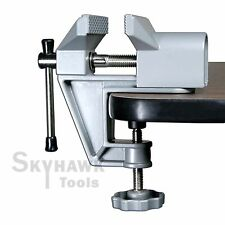 Durable Aluminum Alloy Miniature Small Jewelers Hobby Clamp On Table Bench Tool