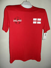 England World Cup Soccer 2010 Football English Team Zorrel T-Shirt S Red