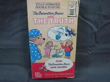 Rare VHS Video Tape The Berenstain Bears The Truth Save The Bees