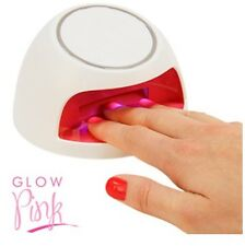 NEW GIRLS GLOW PINK UV NAIL VARNISH DRYER BATTERY POWER BEST GIFTS