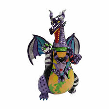 Disney Romano Britto 2017 Sleeping Beauty's Maleficent as DRAGON Scene Figurine