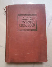 THE AMERICAN WOMAN'S COOK BOOK CUCINA ARTE CULINARIA 1941