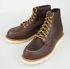 NIB RED WING 8138 Classic Moc Brown Leather Ankle Boots Shoes 8 US 7 EU $270