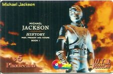 RARE / CARTE TELEPHONIQUE - MICHAEL JACKSON / PHONECARD LIMITED EDITION