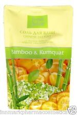 16434 Bath salt Bamboo & Kumquat doypack 200g Fresh Juice