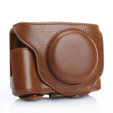 PU Leather DSLR Camera Case Protective Bag Cover for Fujifilm Fuji X70 Brown New