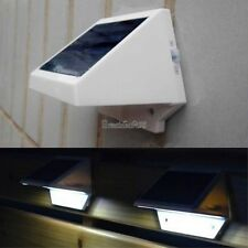 4 LED Solar Power Powered Garden Light Lamp Fence Outdoor Pathway Wall Yard GT56