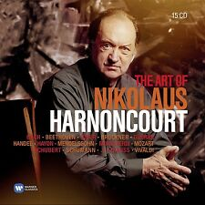 ART OF NIKOLAUS HARNONCOURT(COLLECTO  BACH/BRUCKNER/MEND/+ 15 CD NEU