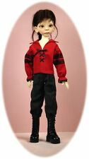 BJD MSD pattern for boy dolls: Poet & Prince shirt & pencil pants; fits Maurice!