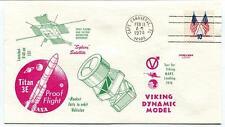1974 Viking Dynamic Model Landing Test MARS Plasma Titan 3E Cape Canaveral NASA