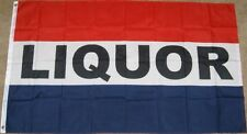 3X5 LIQUOR FLAG STORE BANNER SIGN ALCOHOL 3'X5' F999