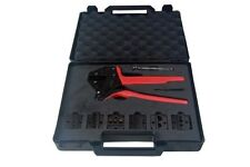 Bergen Crimp Pliers Crimping Ratchet Tool Set With Extra Dies B6632