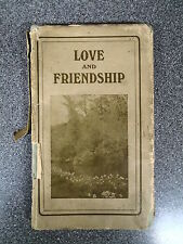 LOVE AND FRIENDSHIP, THE GOLDEN HARVEST SERIES - ROBERT SCOTT - H/B D/W