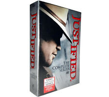 JUSTIFIED The Complete Series Seasons 1-6 DVD NEW  box set 1 2 3 4 5 6