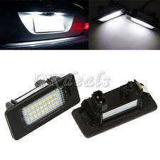 White 24 LED License Plate Light For BMW E90 M3 E92 E70 E39 F30 E60 E93 Latest