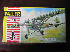 MAQUETTE 1/100 FISELER STORCH FI 156 FALLER WWII MILITAIRE