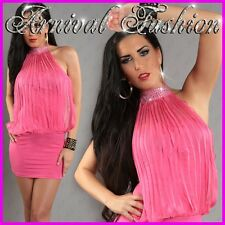 NEW SEXY PARTY DRESSES FOR WOMEN size 6 8 10 HOT CLUBBING WEAR FOR LADIES sz S M