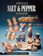 America's Salt & Pepper Shakers - North Dakota & California Potteries w Prices