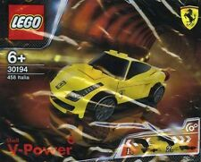 Sealed ! SHELL LEGO V-Power  30194 Ferrari 458 Italia  Yellow Racer