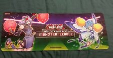"1996 Yu-Gi-Oh! Battle Pack 3 Monster League Play Mat 24"" x 9"" excellent cond."