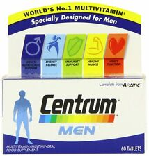 Centrum Multivitamins/minerals Nutritional Health Supplement for Men Pack of 60