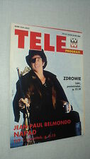 TELE PROGRAM 94/38 (16/9/94) JEAN-PAUL BELMONDO ISABELLE HUPPERT TOM HANKS ALLEN