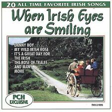 NEW - When Irish Eyes Are Smiling: 20 All Time Favorite Irish Songs