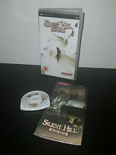 SILENT HILL ORIGINS - PLAYSTATION PSP ORIGINAL RELEASE! COMPLETE