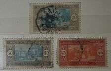 SENEGAL 1914 SG115/116/118 used stamps (No010)