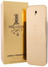 1 ONE MILLION * PACO RABANNE * Cologne for Men * 3.3 / 3.4 oz * EDT * NEW IN BOX