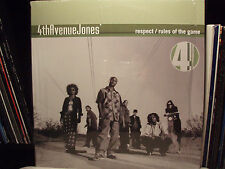 "4TH AVENUE JONES - RESPECT / RULES OF THE GAME (12"")  2000!!!  RARE!!!  ♫"