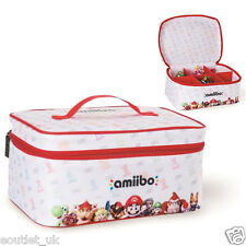 Official Licensed Nintendo Amiibo Figure Tote Bag Carry Case Storage NEW