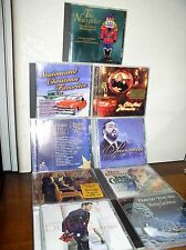 9 -Assorted Christmas CDs: Rieu, Streisand, Pavarotti, Crosby, Buble, Young,more
