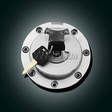 Fuel Gas Cap Cover KEY TANK Fit For HONDA VTR1000 97 98 VFR800 98 99 CBR600 F2