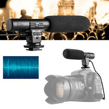 Popular Video Studio Shotgun Recording Microphone for Nikon DSLR Camera