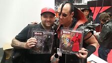 NECA MISFITS Band Action Figure BLACK Skull Fiend JERRY ONLY SIGNED NYCC 2014